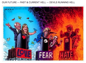 OUR FUTURE -- PAST & CURRENT HELL -- DEVILS RUNNING HELL
